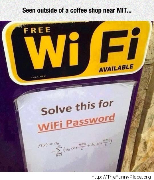Work for your wi fi