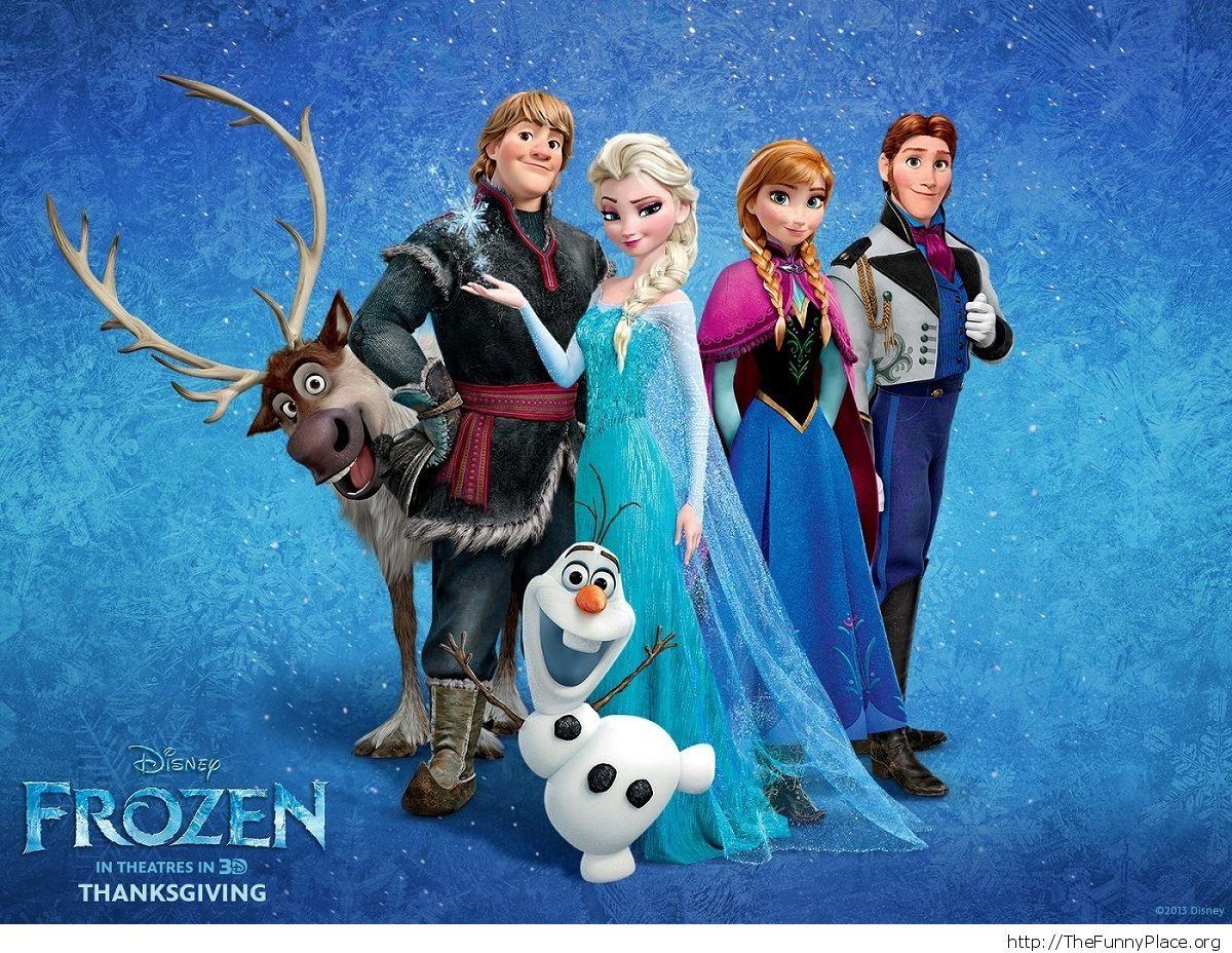 frozen wallpaper image
