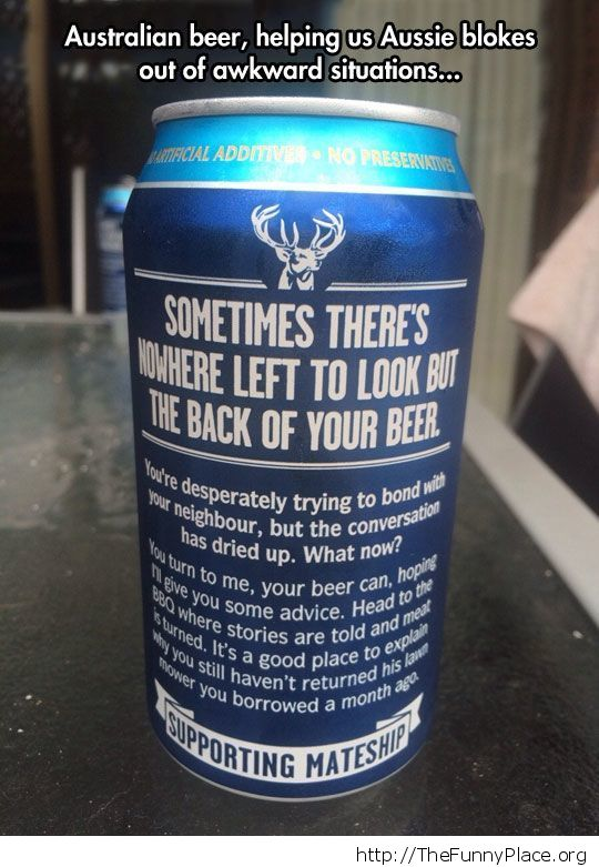 Beer advice