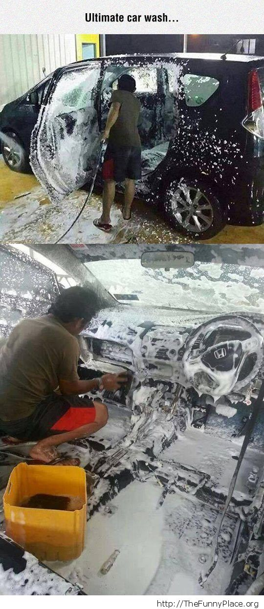 Car wash fail