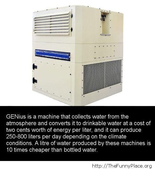 Cheap water