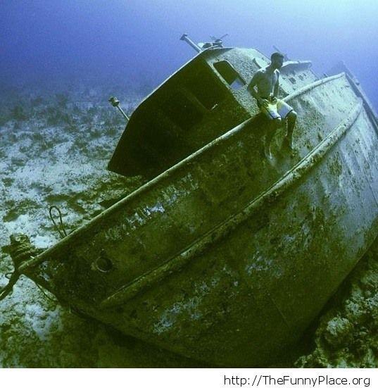 Derilict ship