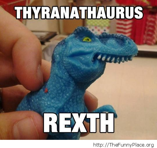Derp T-rex