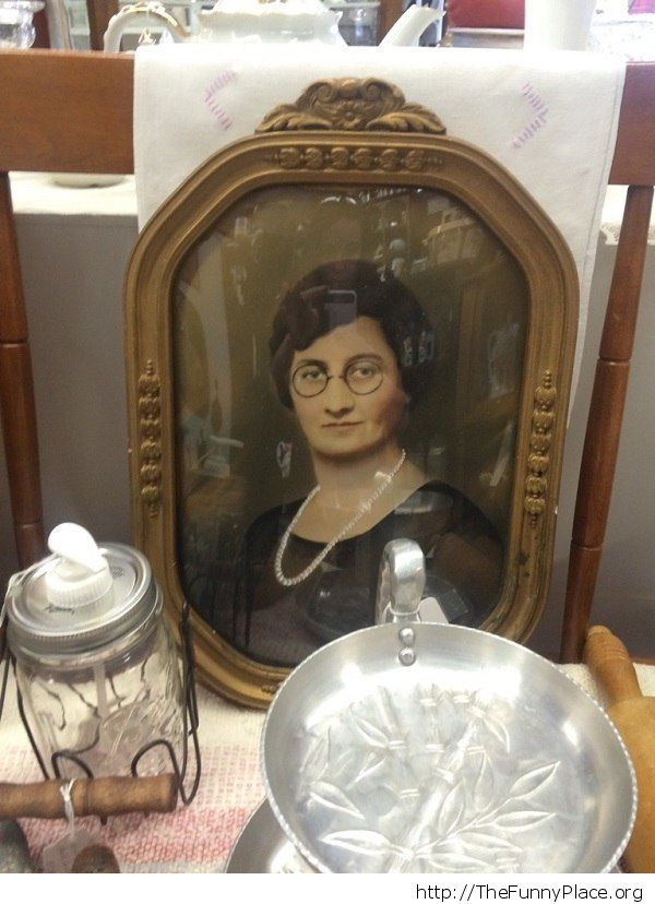 Found Daniel Radcliffe as a woman in an old timey photo