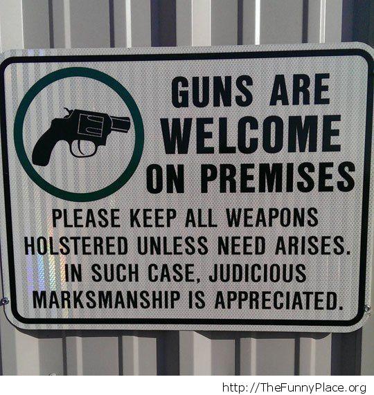 Judicious marksmanship is appreciated