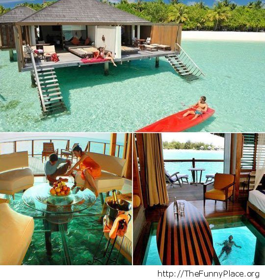 Summer in the Maldives