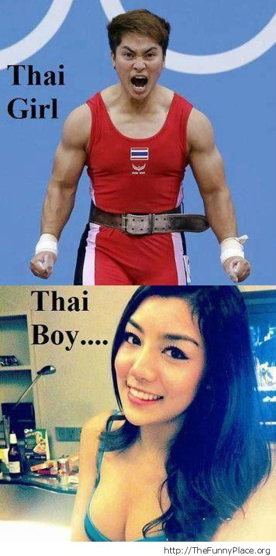 Thai boy or thai girl