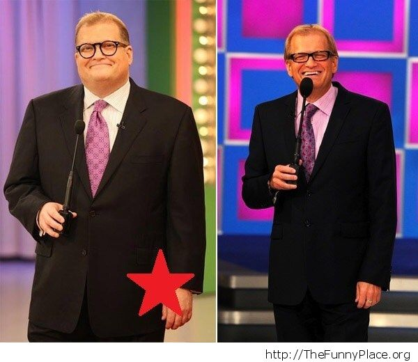 This photo made me realize Drew Carey is slowly turning into Bob Barker