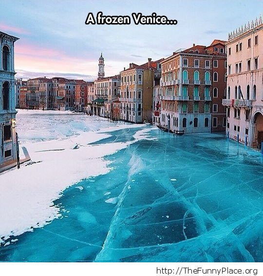 Venice got streets
