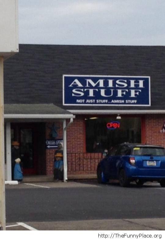 Amish stuff