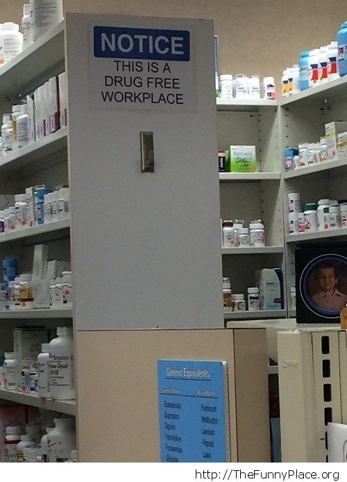 At the local pharmacy