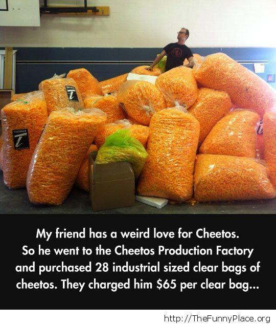 Cheetos fan