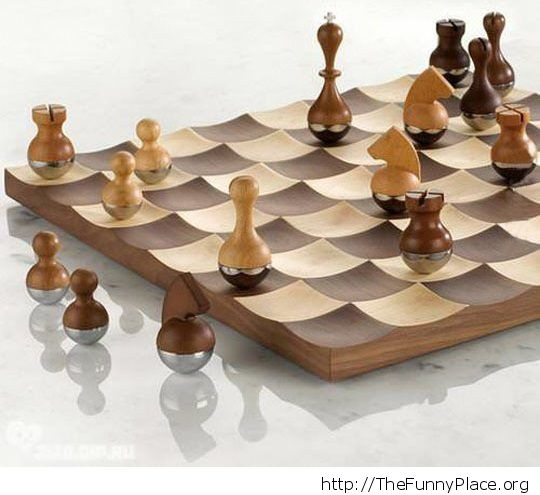 Cool chessboard