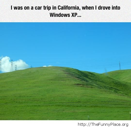 Driving into Windows XP