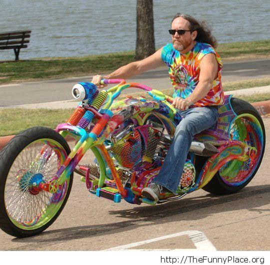 Hippie bike
