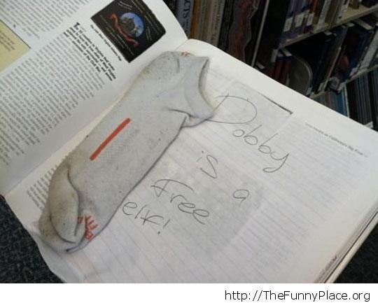 Library prank