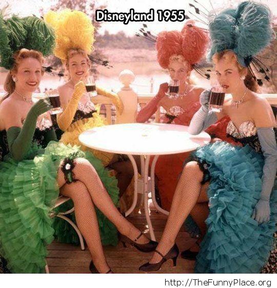 Old timey Disneyland