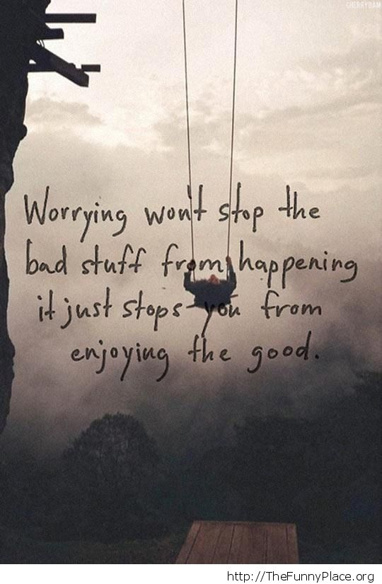 Stop from enjoying