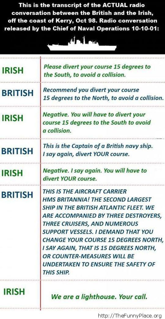 Stuborn englishmen