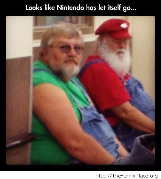 The Mario brothers got fat