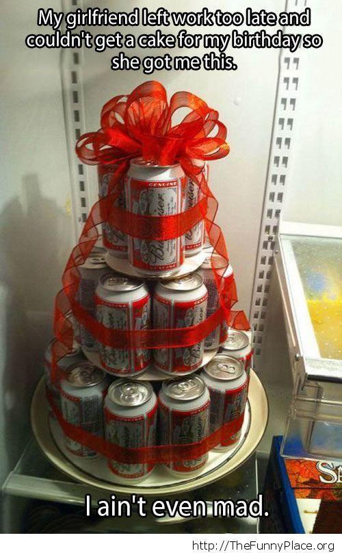 Alcoholics cake