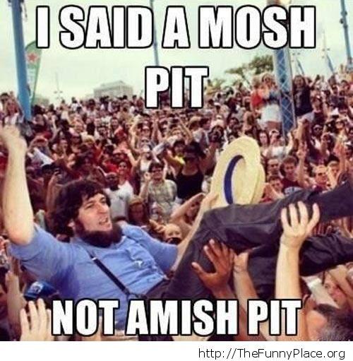 Amish pit
