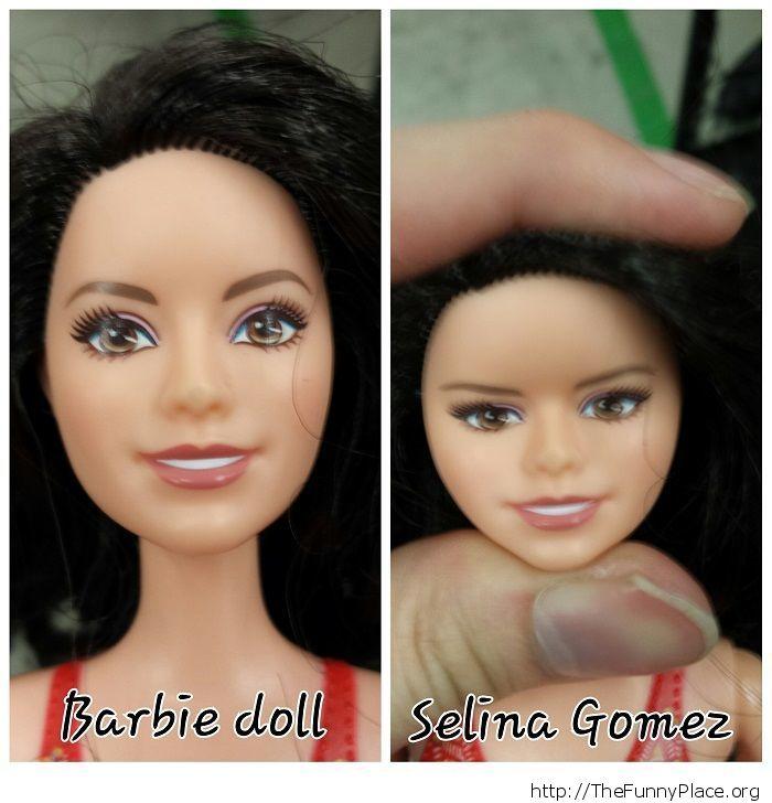 Barbie vs Selena Gomez