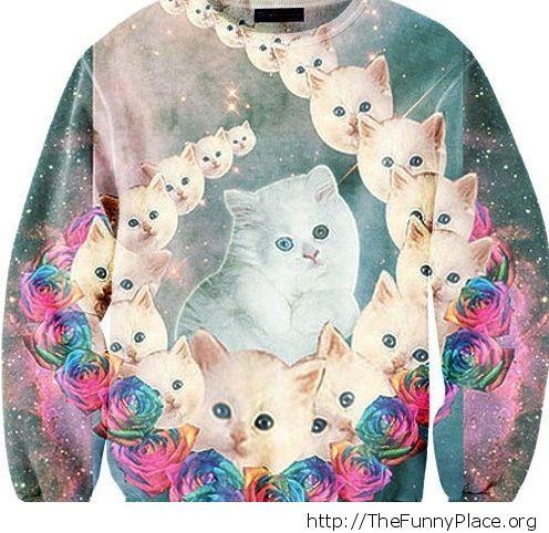 Crazy cat lady fashin edition