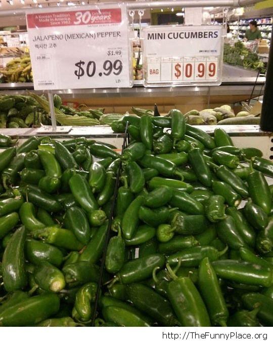 Cucumber burn