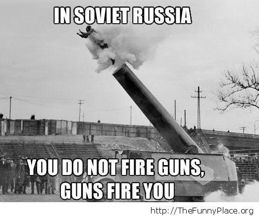 Guns fire you