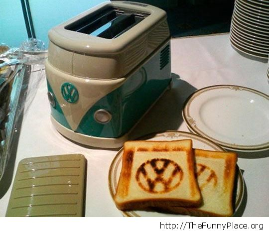 Old school toaster
