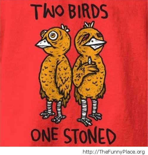 One stoned