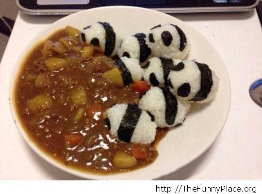 Panda rice