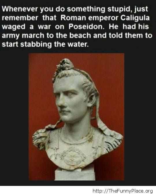 Stab the water
