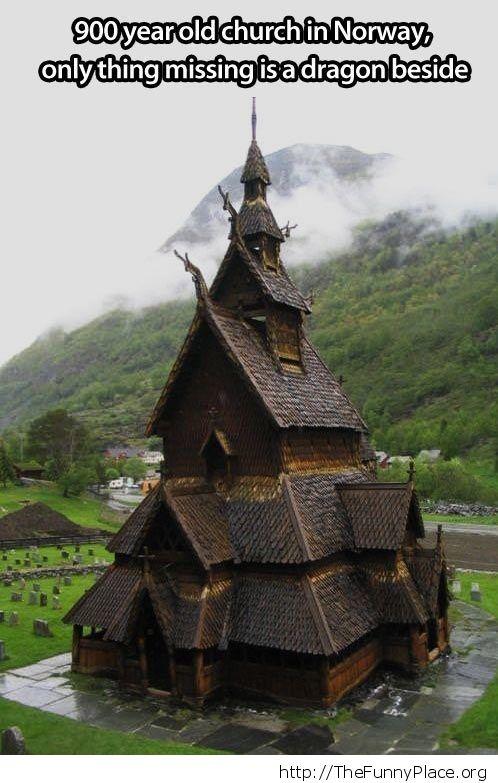 Very old church