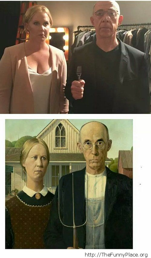 Amy Schumer vs American Gothic