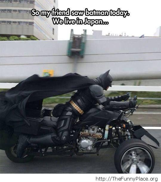 Batman rides again