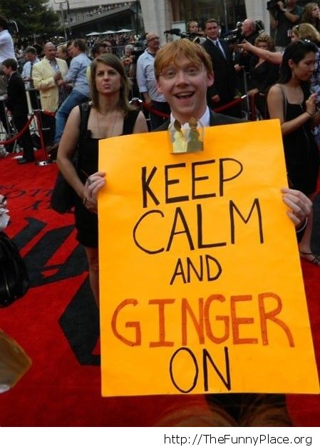 Ginger on
