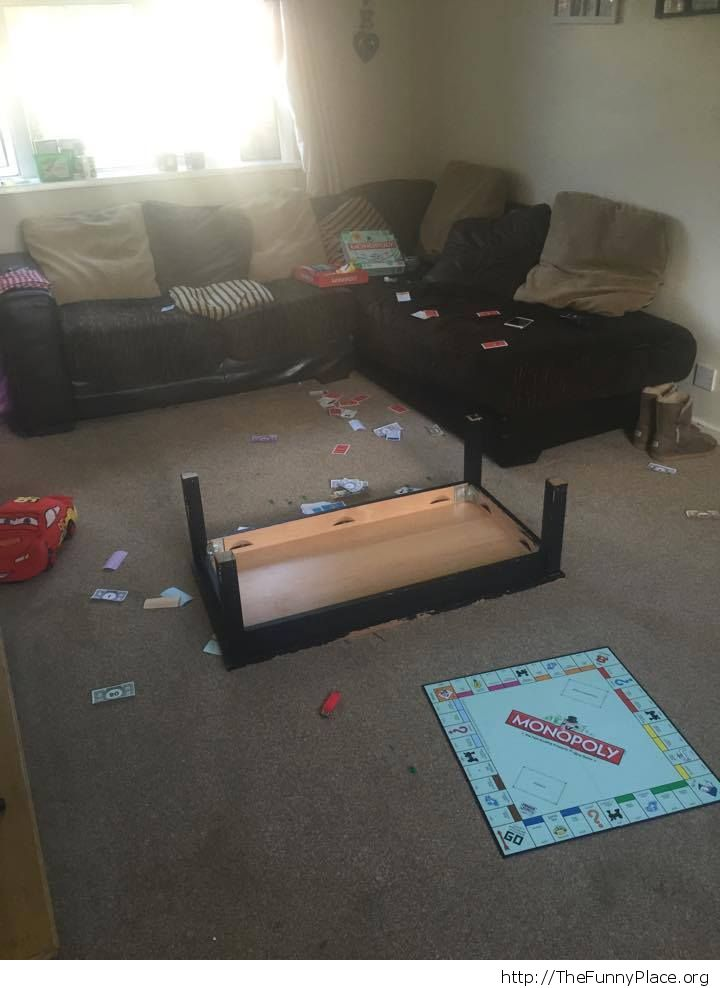 How Monopoly ends