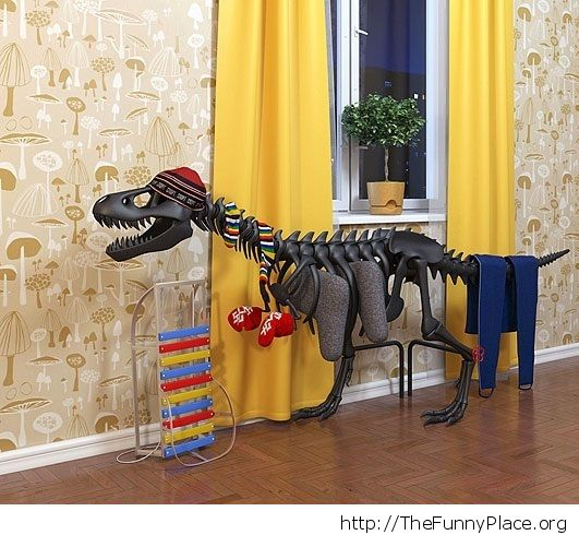 Warm bloded T-Rex