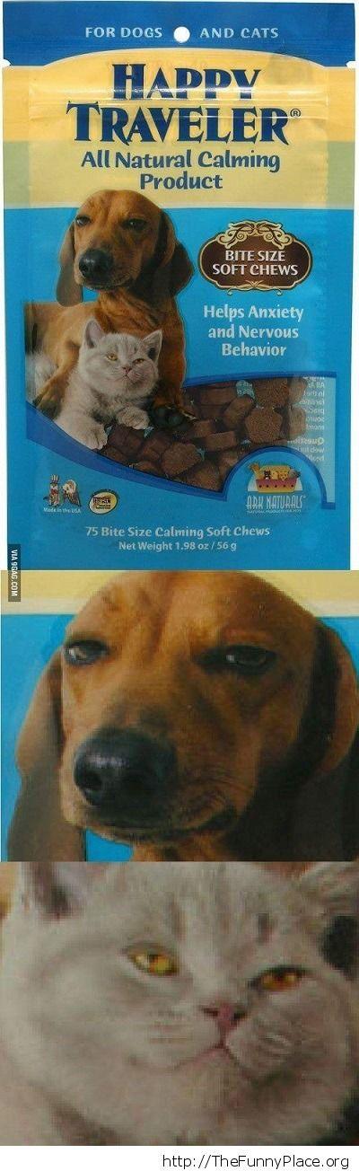 Weird food package