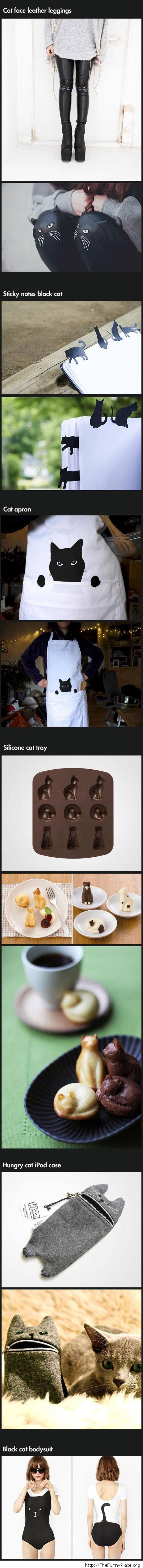 Crazy cat wear for crazy cat people