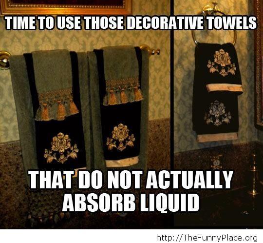 Not towels