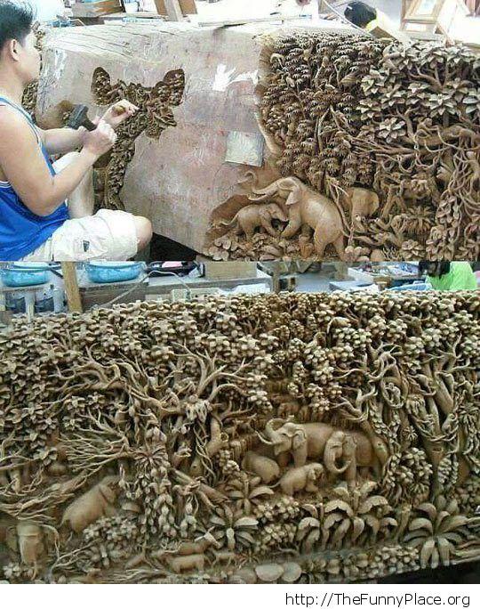 Precision carving