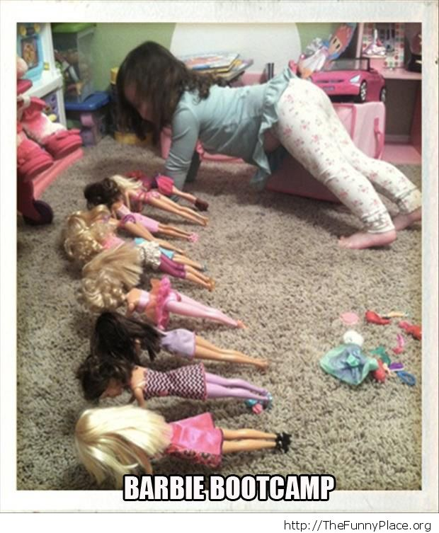 Barbie bootcamp