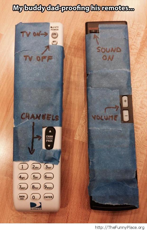 Dad's remote