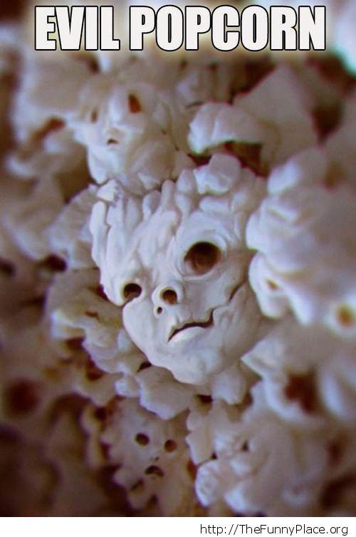 Evil popcorn