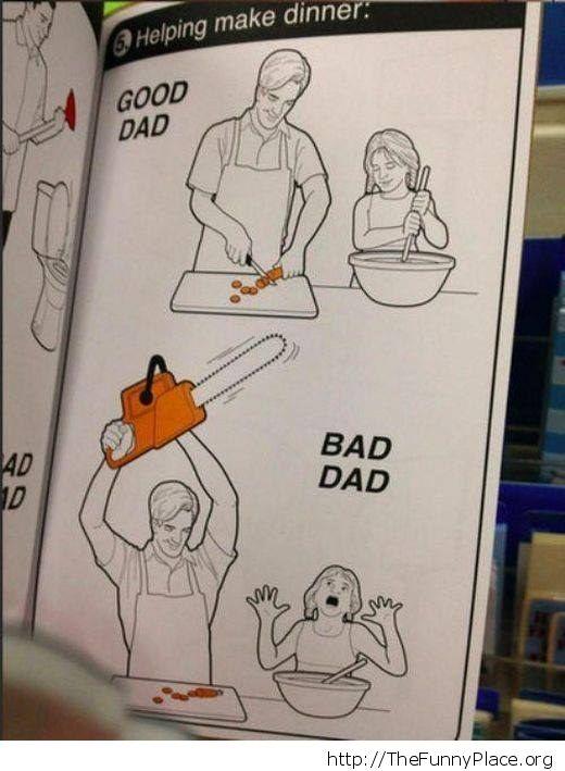 Good Dad vs Bad Dad
