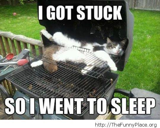 I got stuck