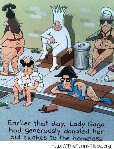 Lady Gaga clothes